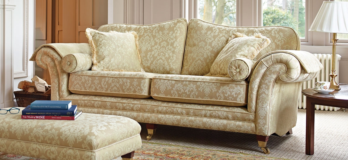 Windsor Classic British 3 Seater Sofa Sofasofa Sofasofa effectively with Three Seater Sofas (Image 19 of 20)