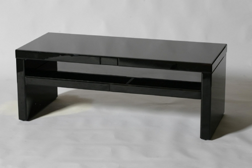 Wonderful Black Glass Coffee Table Black Glass Modern 3pc Coffee well intended for Unique Black Glass Coffee Table (Image 22 of 30)