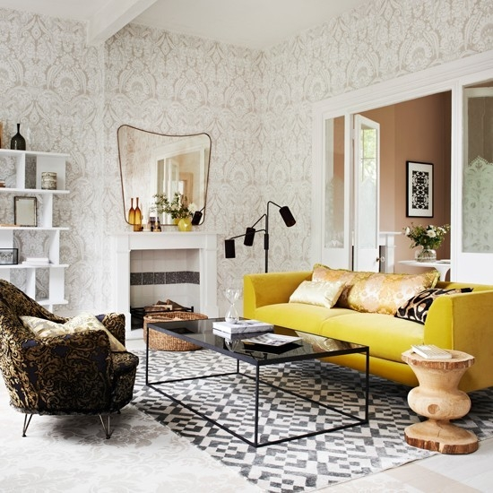 Wonderful Yellow Living Room Chairs Design Yellow Club Chair good intended for Yellow Sofa Chairs (Image 17 of 20)