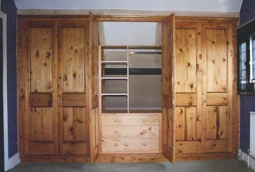 Wooden Cupboards For Bedroom well for Solid Wood Built In Wardrobes (Image 12 of 20)