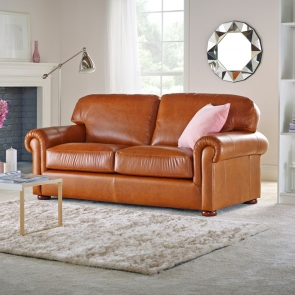 York 3 Seater Sofa From Sofas Saxon Uk definitely pertaining to Three Seater Sofas (Image 20 of 20)