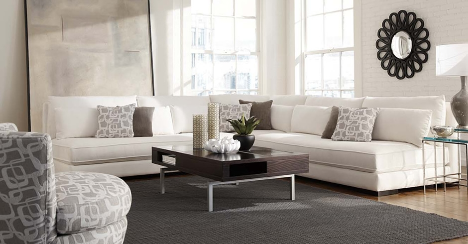 Younger Furniture Chill Collection perfectly with regard to Armless Sectional Sofas (Image 20 of 20)