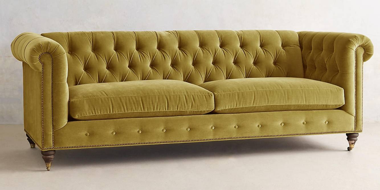 Featured Photo of Small Chesterfield Sofas