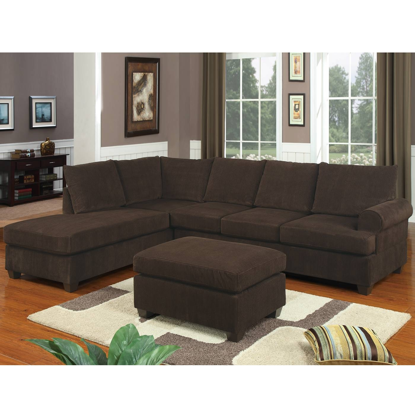 Featured Photo of 10 Foot Sectional Sofa