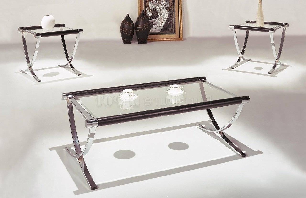 Explore gallery of chrome leg coffee tables showing 29 of 30 photos 10 of glass coffee tables and end tables best ideas samples throughout chrome leg coffee tables geotapseo Image collections