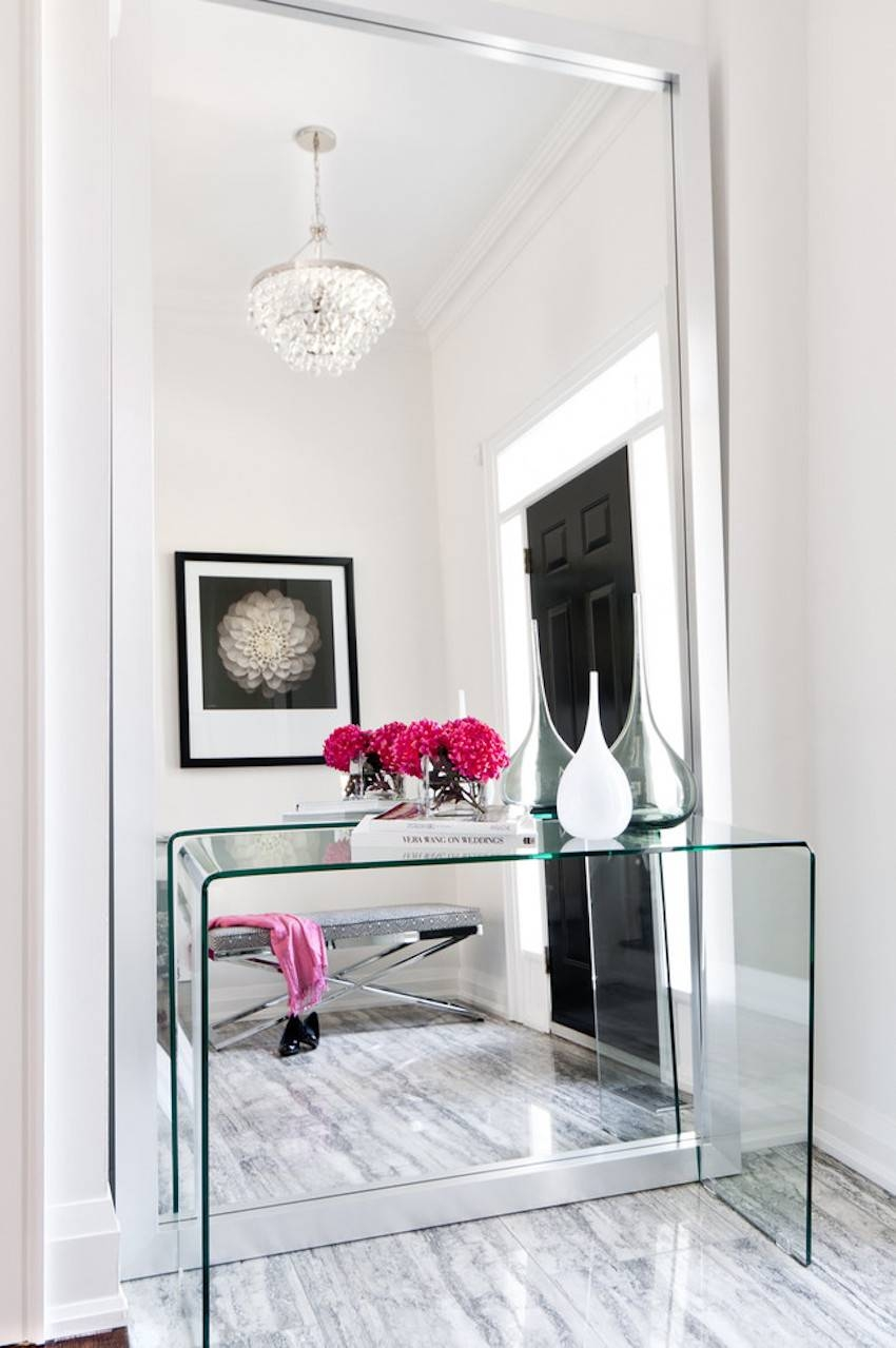 10 Surprisingly Awesome Hallway Mirror Ideas That You Will Like for Contemporary Hall Mirrors (Image 1 of 25)