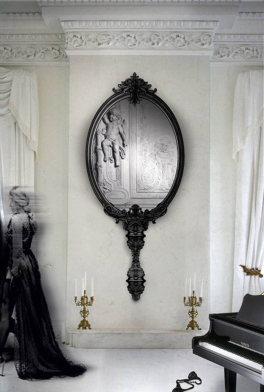 10 Wall Mirror Ideas That Will Give The Unique Look To Your Room within Unique Wall Mirrors (Image 4 of 25)