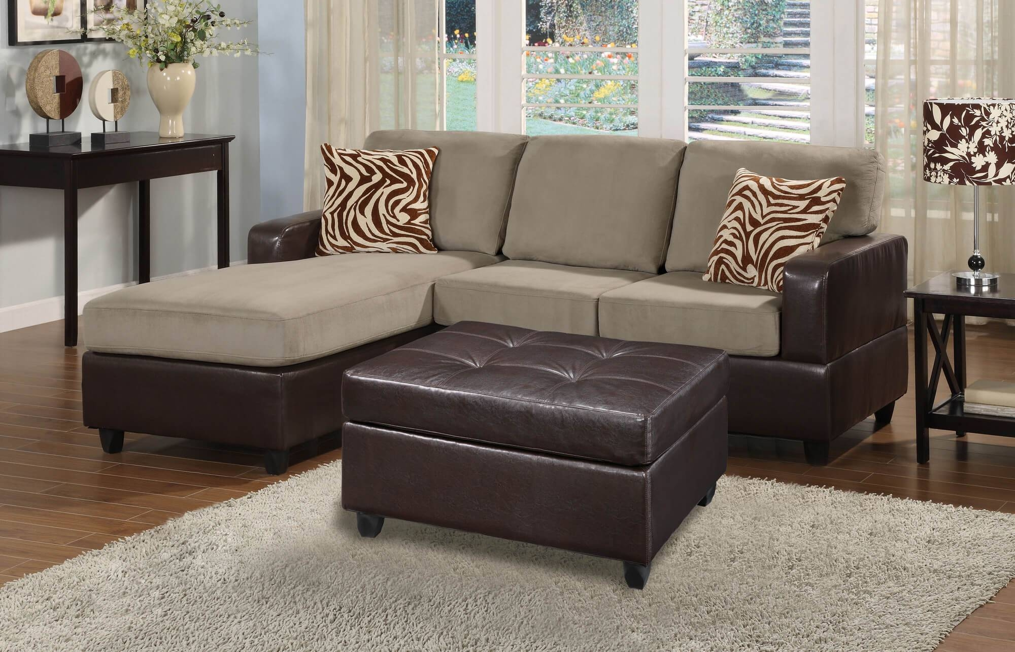100 Beautiful Sectional Sofas Under $1,000 with regard to Tufted Sectional Sofa With Chaise (Image 1 of 30)