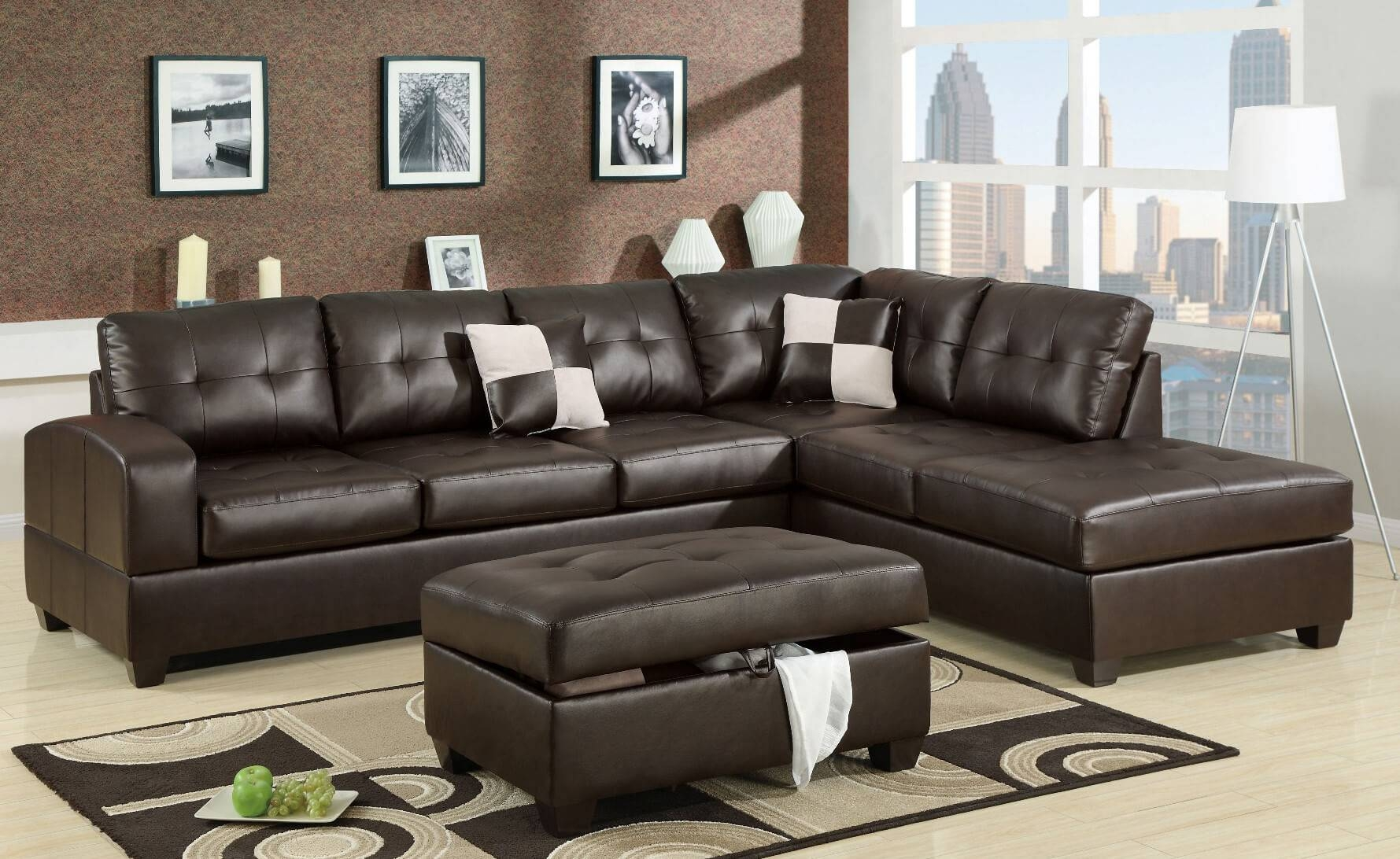 100 Beautiful Sectional Sofas Under $1,000 within Affordable Tufted Sofa (Image 1 of 30)