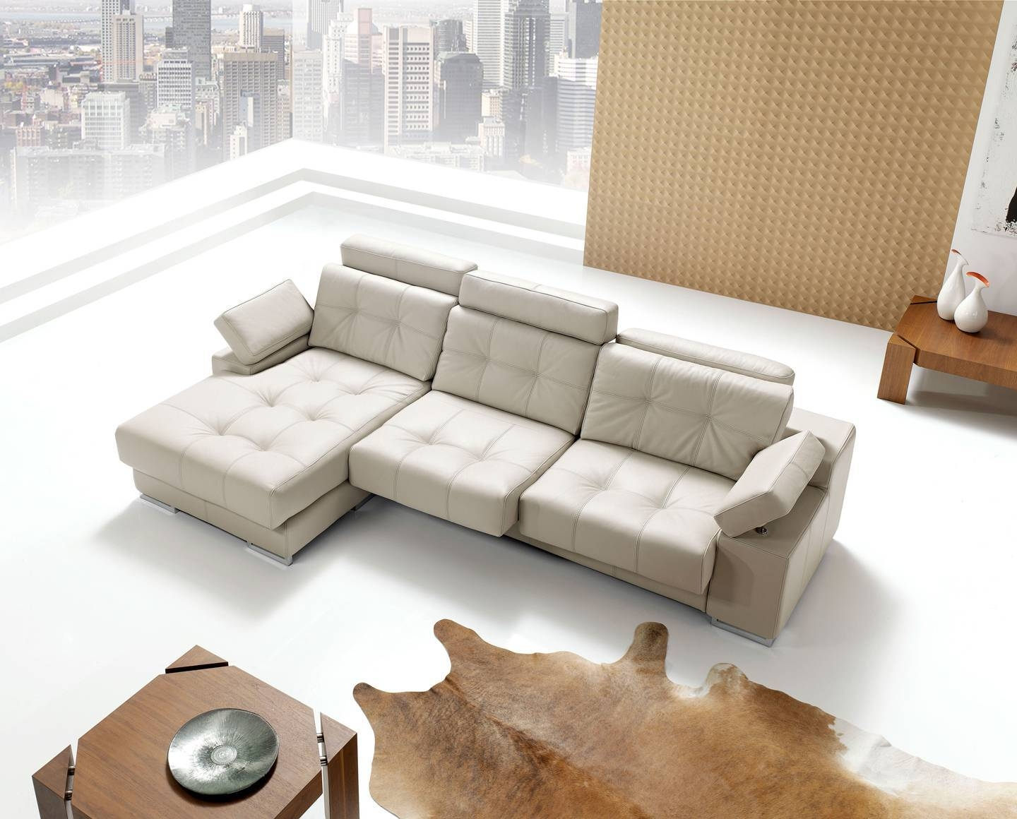 100% Genuine Italian Quality Leather Sectionals. Corner Couches inside European Sectional Sofas (Image 1 of 30)