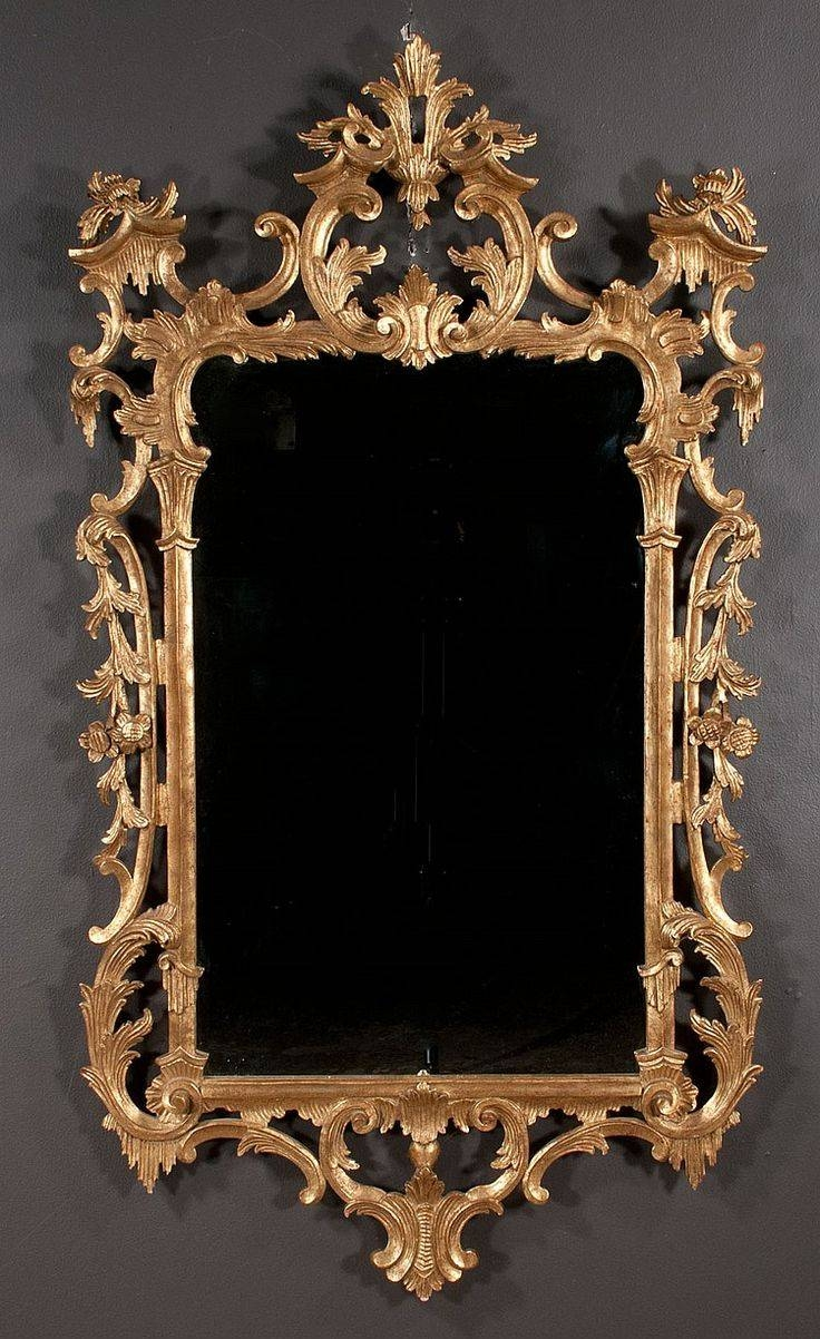 102 Best Mirrors Images On Pinterest | Mirror Mirror, Mirror Walls for Gilt Mirrors (Image 1 of 25)