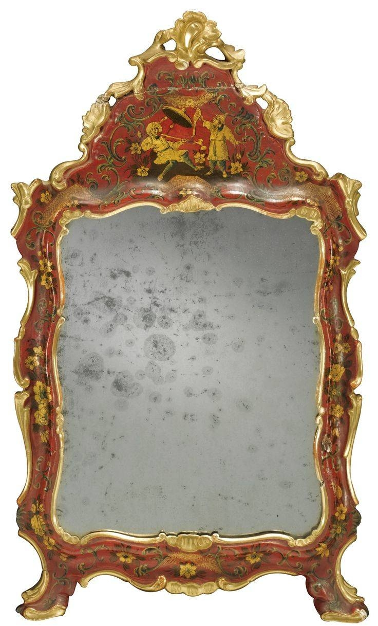 104 Best Mirrors Images On Pinterest | Mirror Mirror, Antique inside Red Mirrors (Image 1 of 25)