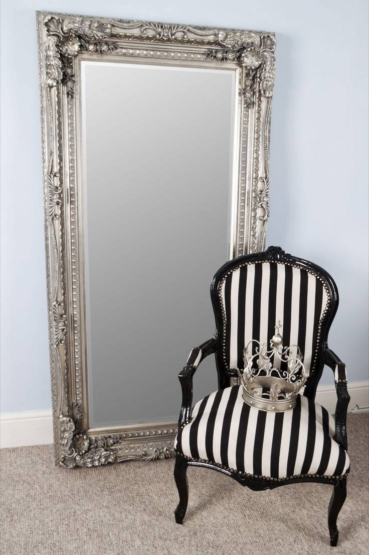 104 Best Mirrors Images On Pinterest | Mirrors, Home And Mirror Mirror Throughout Silver Floor Standing Mirrors (View 1 of 25)