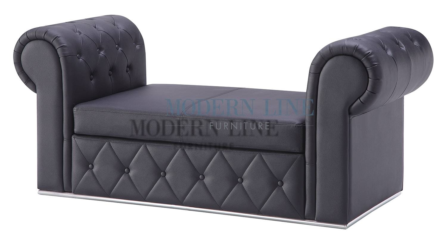 11 Backless Sofas | Carehouse intended for Backless Chaise Sofa (Image 1 of 30)