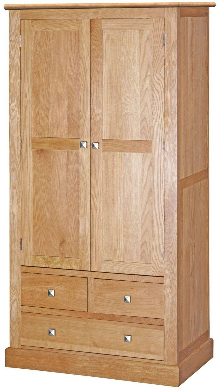 11 Best Aspen Solid Oak Furniture Images On Pinterest Pertaining To Oak Wardrobe With Drawers And Shelves (View 23 of 30)