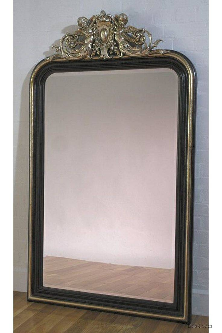 110 Best What Is The Style – French Rococo Mirrors Images On Pertaining To Black Bevelled Mirrors (View 1 of 13)