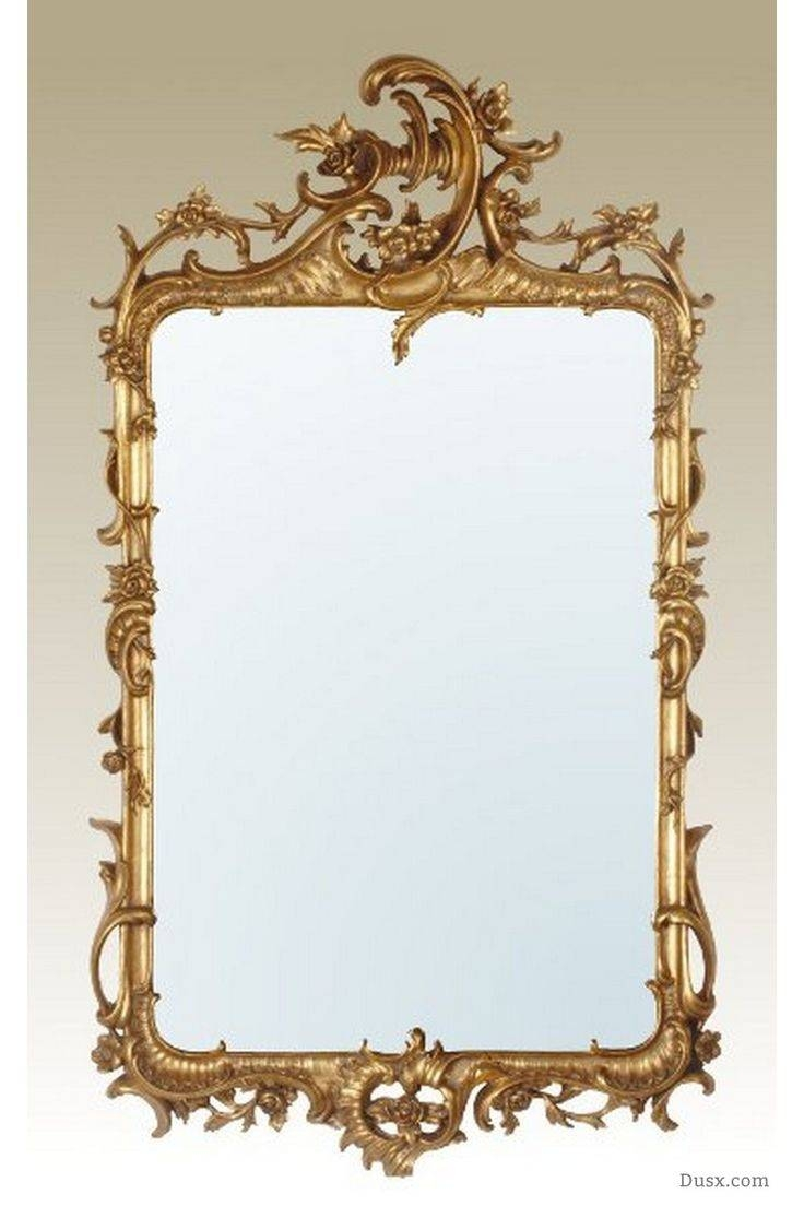 110 Best What Is The Style - French Rococo Mirrors Images On pertaining to Rococo Gold Mirrors (Image 2 of 25)