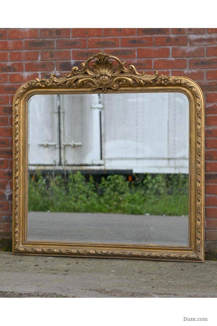 110 Best What Is The Style - French Rococo Mirrors Images On regarding French Gold Mirrors (Image 2 of 25)