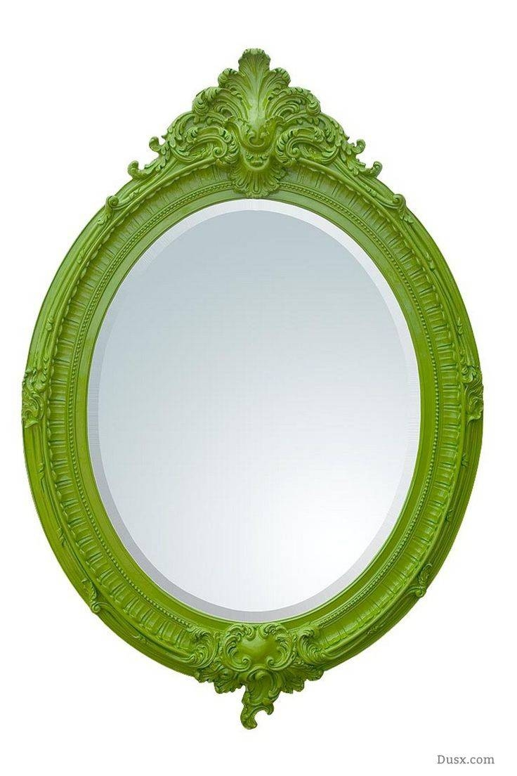 110 Best What Is The Style - French Rococo Mirrors Images On throughout Bright Coloured Mirrors (Image 1 of 25)