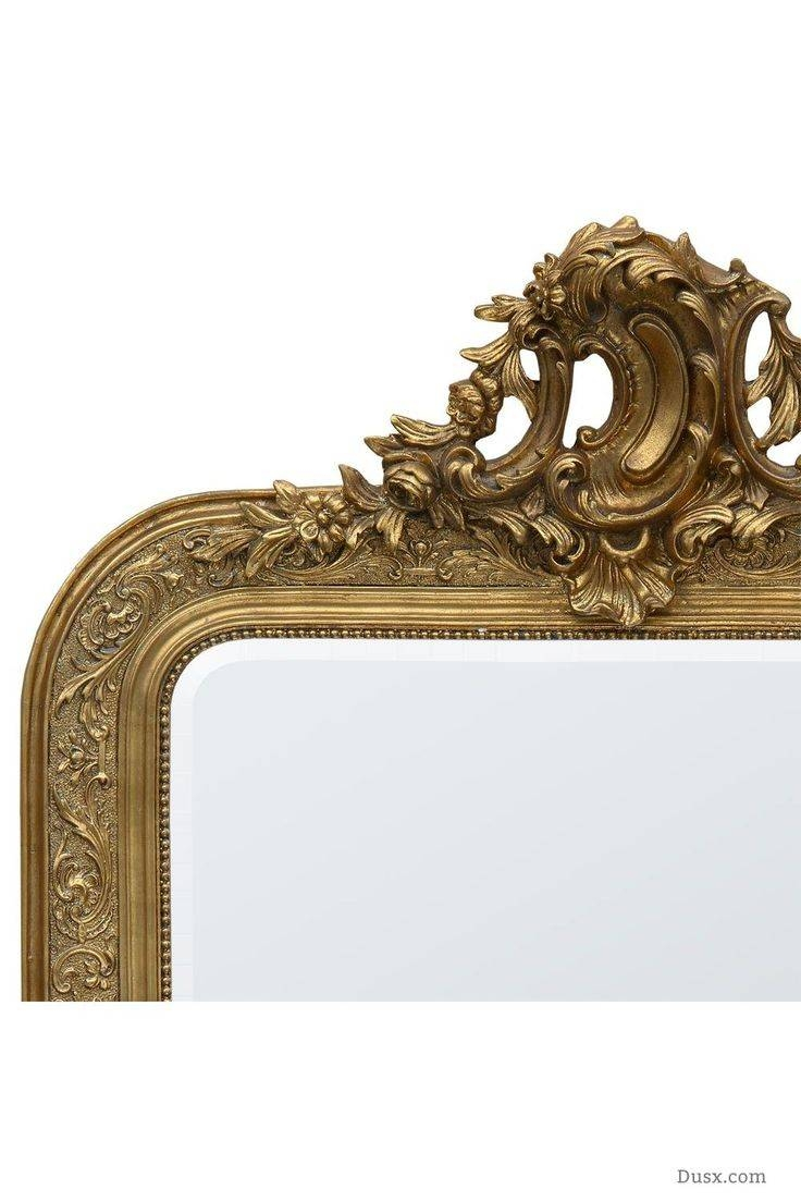 110 Best What Is The Style - French Rococo Mirrors Images On with regard to French Gold Mirrors (Image 5 of 25)