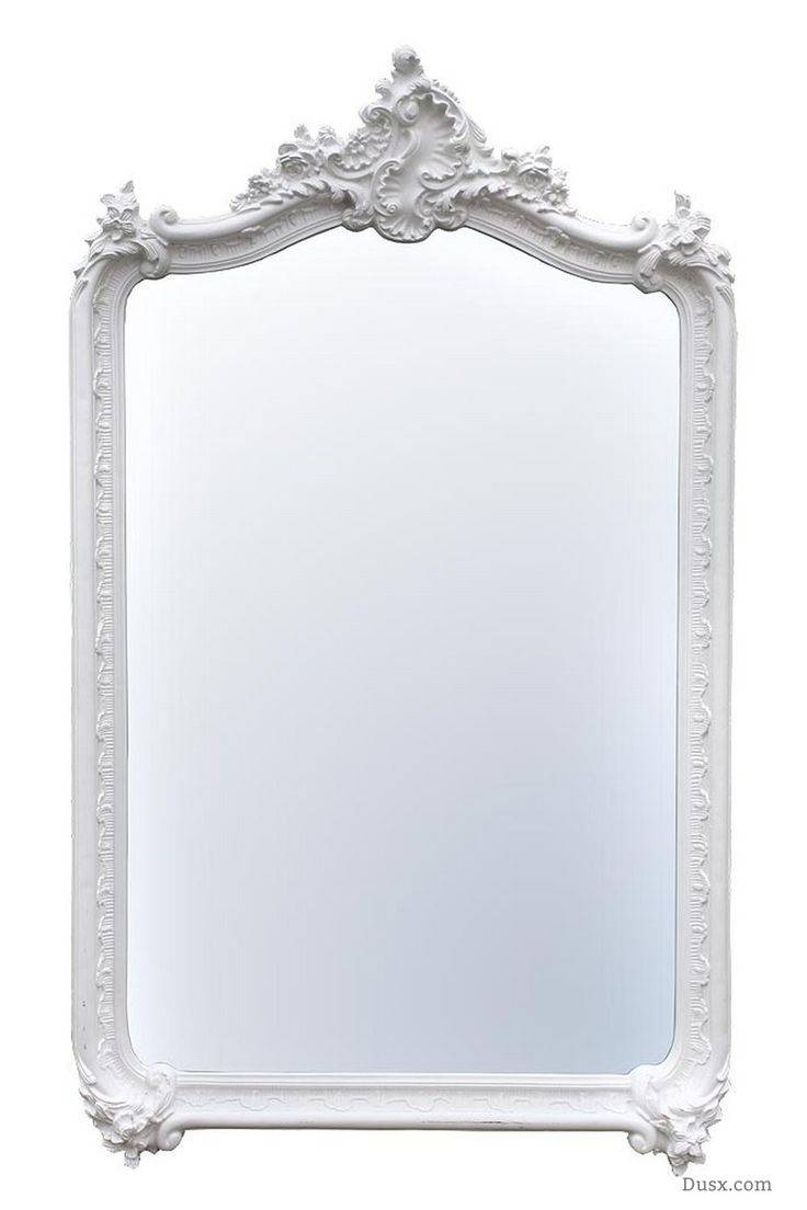 110 Best What Is The Style - French Rococo Mirrors Images On with regard to White French Mirrors (Image 3 of 25)