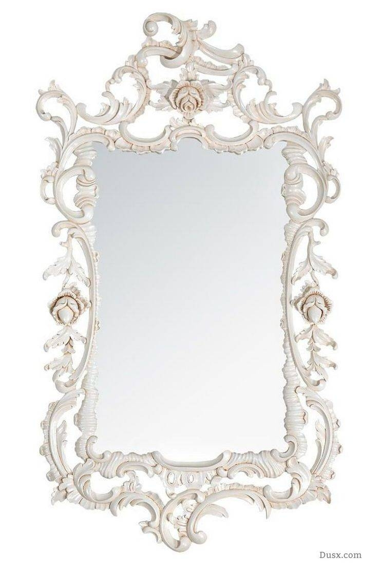 Featured Photo of White Rococo Mirrors
