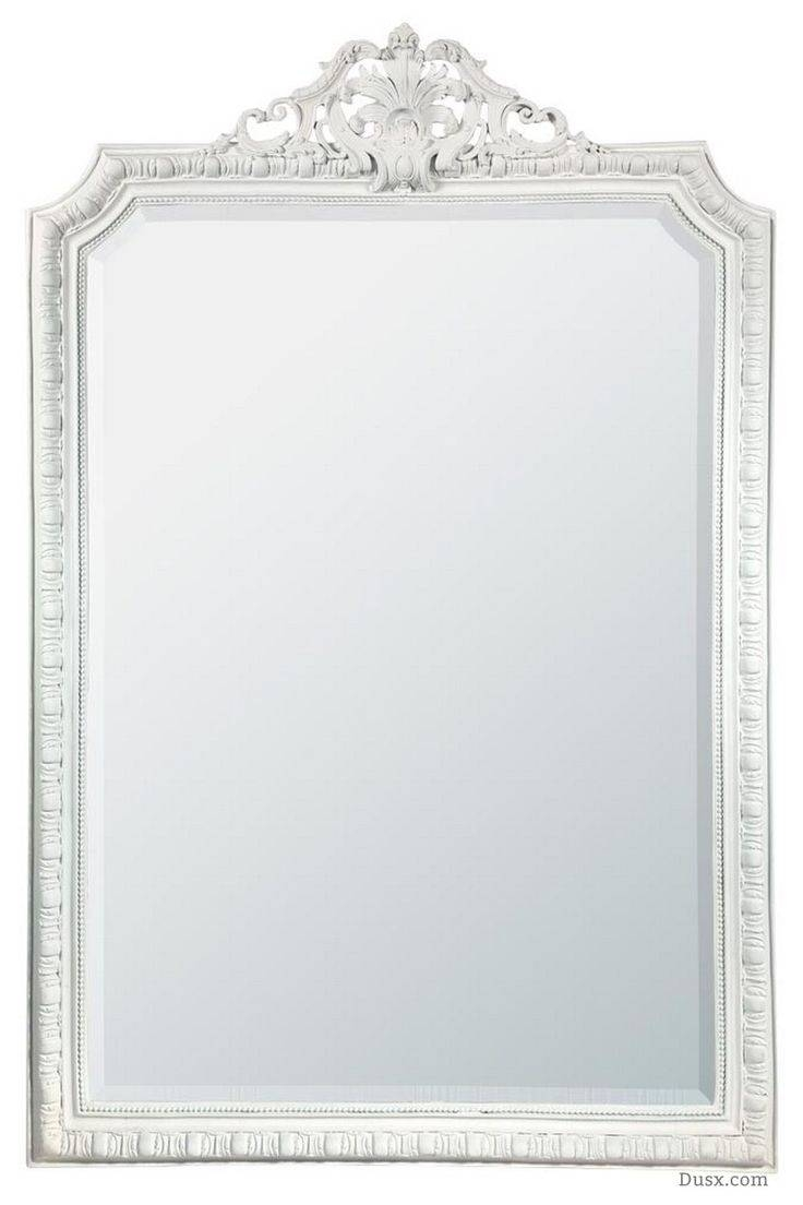 110 Best What Is The Style - French Rococo Mirrors Images On with regard to White Shabby Chic Mirrors Sale (Image 2 of 25)