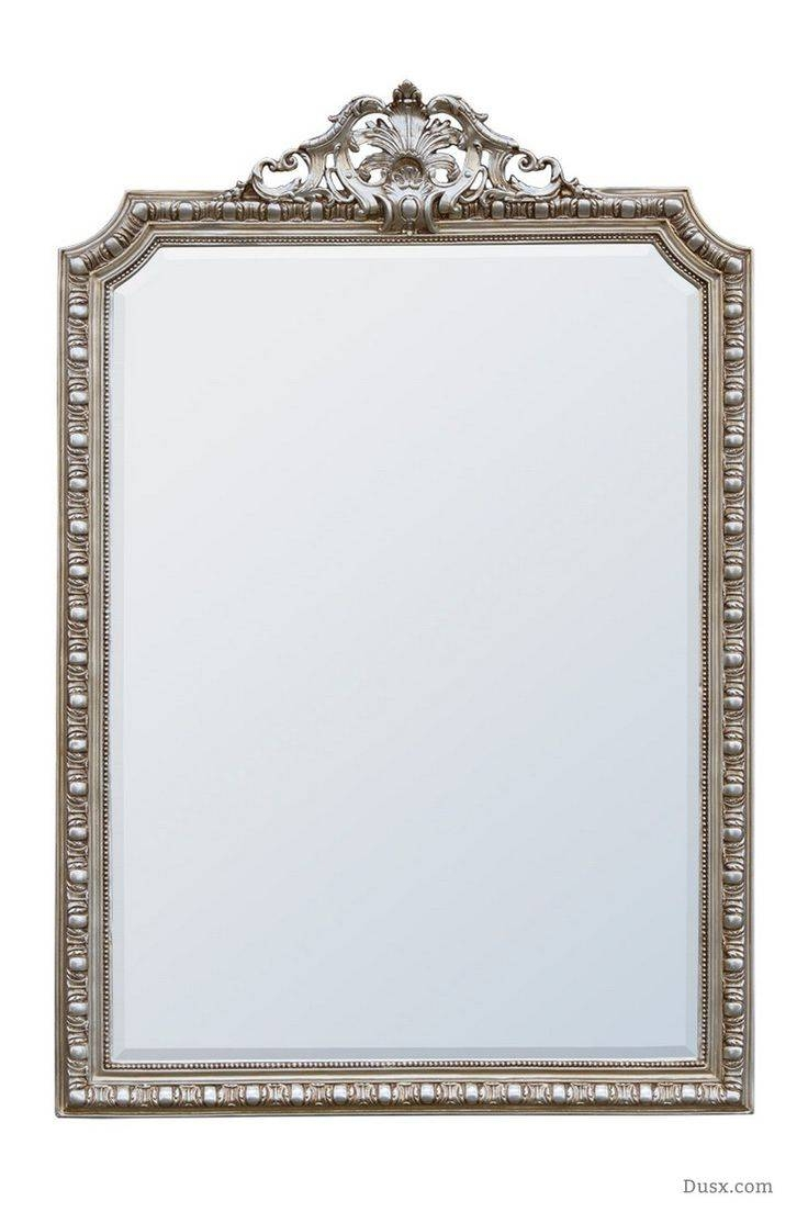 110 Best What Is The Style – French Rococo Mirrors Images On With Silver Bevelled Mirrors (View 1 of 25)