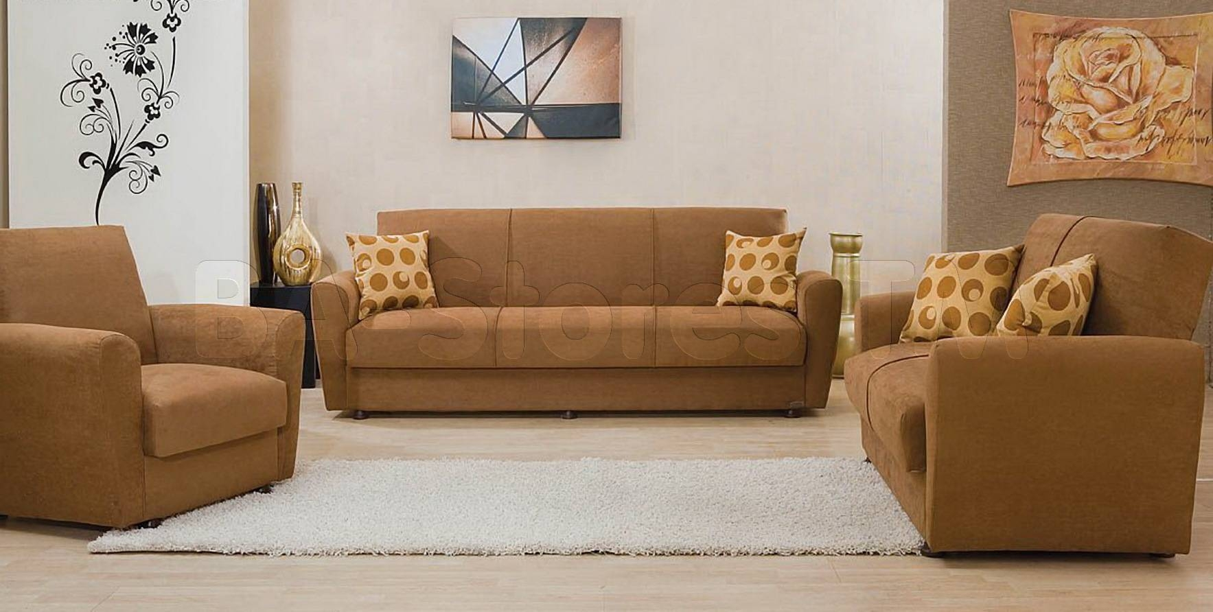$1198.00 Tampa 3 Pc Casual Sofa Set (Sofa, Loveseat And Chair in Sofas Tampa (Image 1 of 25)