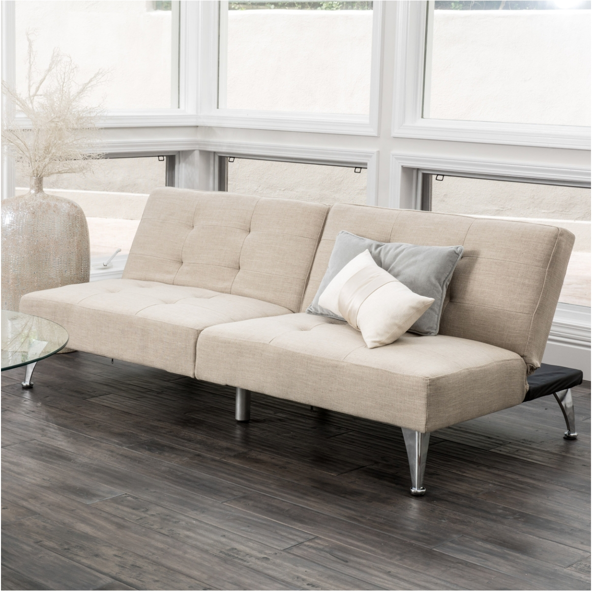 12 Affordable (And Chic) Sleeper Sofas For Small Living Spaces regarding Comfortable Convertible Sofas (Image 1 of 30)