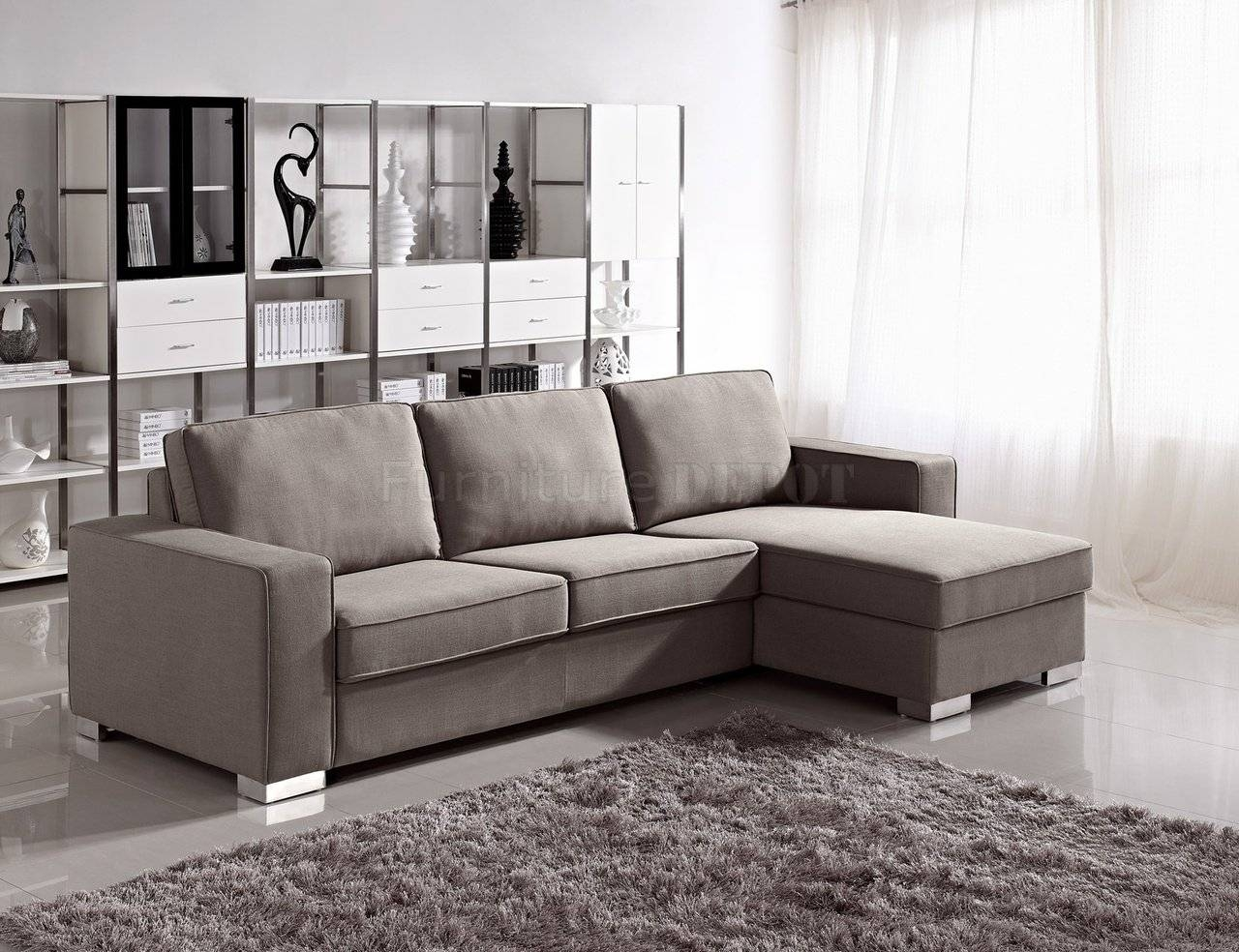 12 Best Collection Of Convertible Sectional Sofas within Convertible Sectional Sofas (Image 2 of 30)
