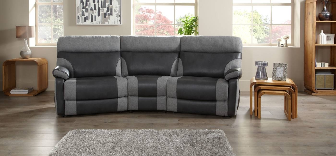 12 Best Ideas Of Curved Recliner Sofa with regard to Curved Recliner Sofa (Image 1 of 30)