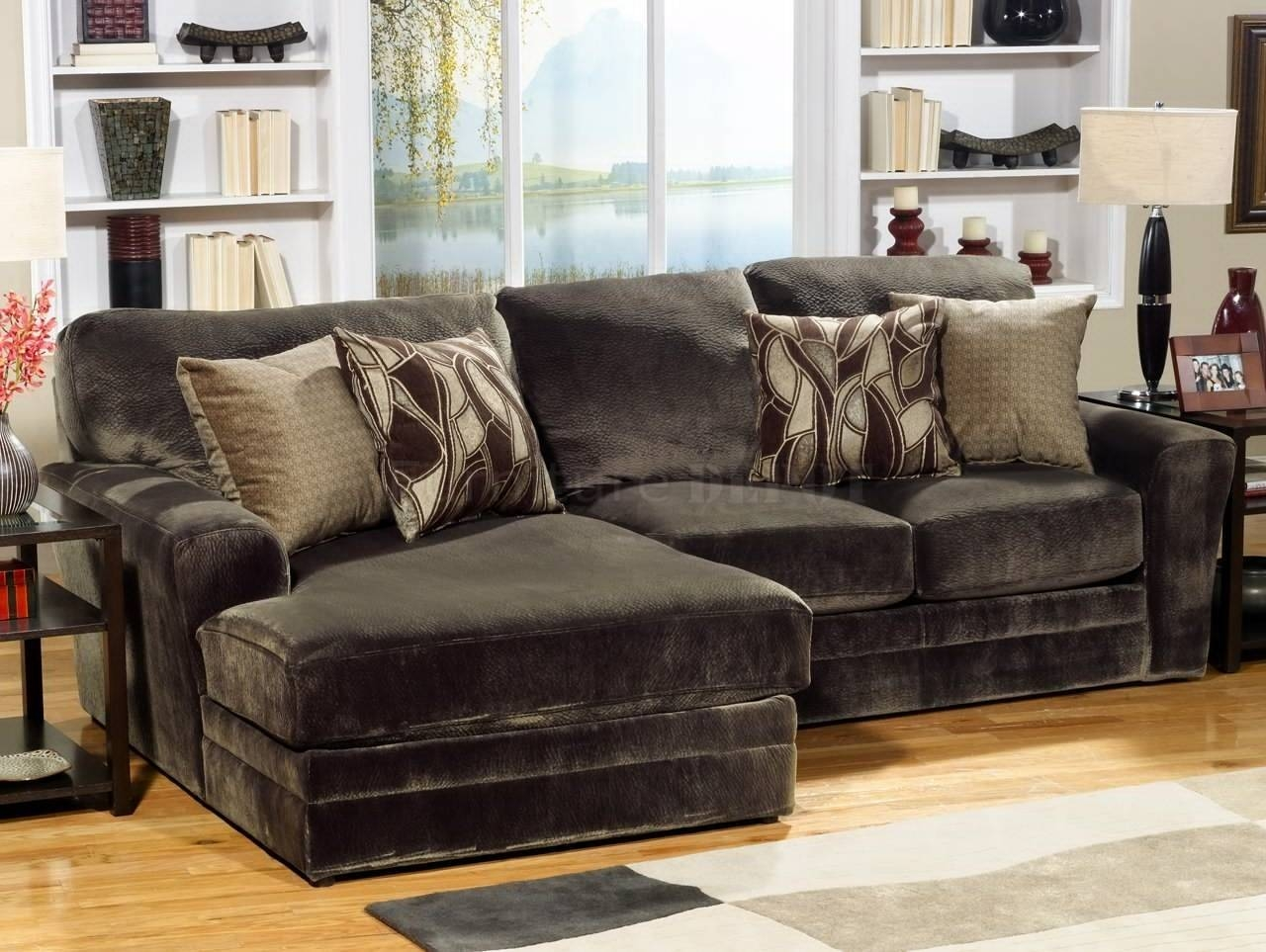 12 Collection Of Chenille Sectional Sofas throughout Chenille Sectional Sofas (Image 1 of 30)