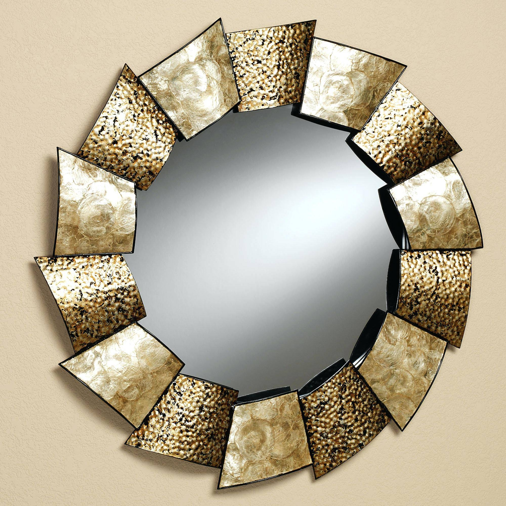 12 Unique Wall Mirror Designs To Decorate Your Home Withunique with Unique Mirrors (Image 3 of 25)