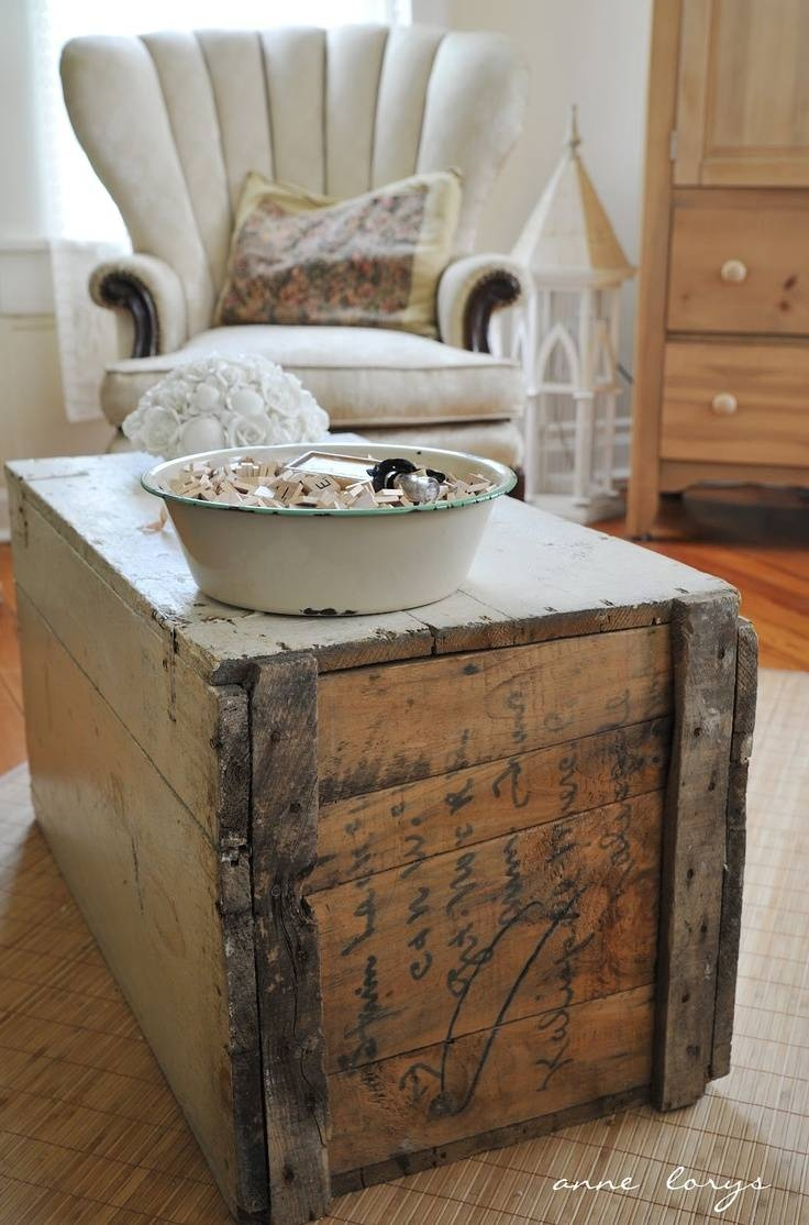 122 Best Trunks Images On Pinterest | Old Trunks, Vintage Trunks intended for Old Trunks as Coffee Tables (Image 1 of 30)