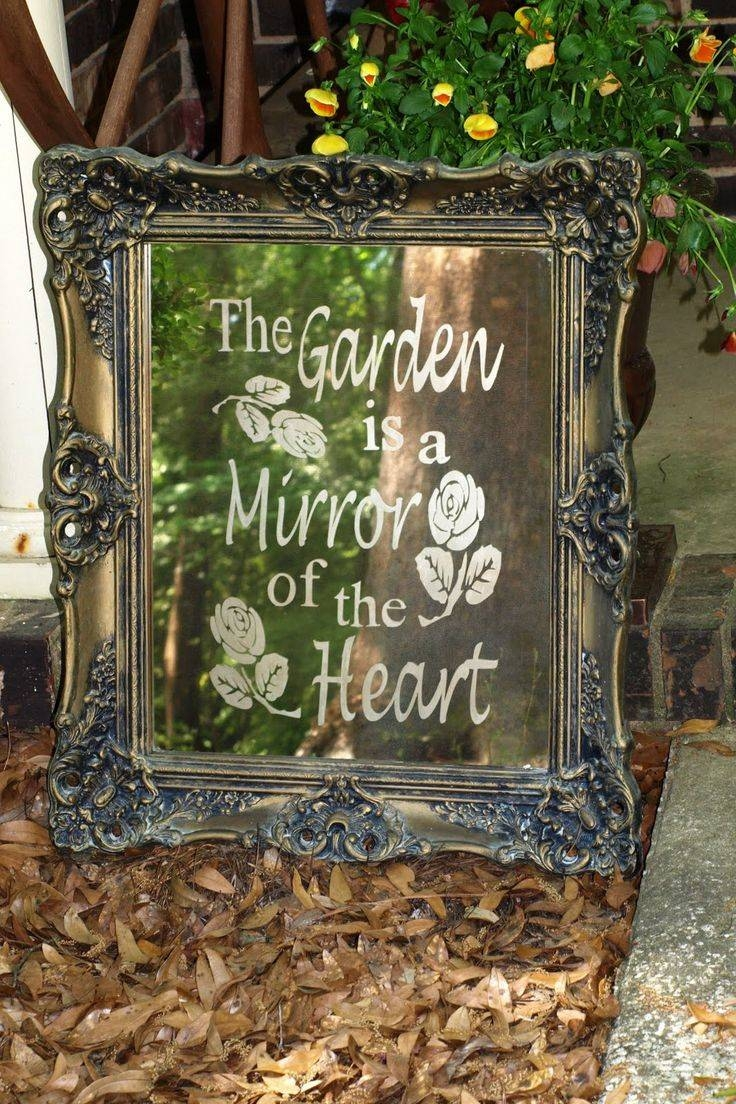 126 Best Things You Can Do With Mirrors Images On Pinterest with regard to Garden Wall Mirrors (Image 2 of 25)