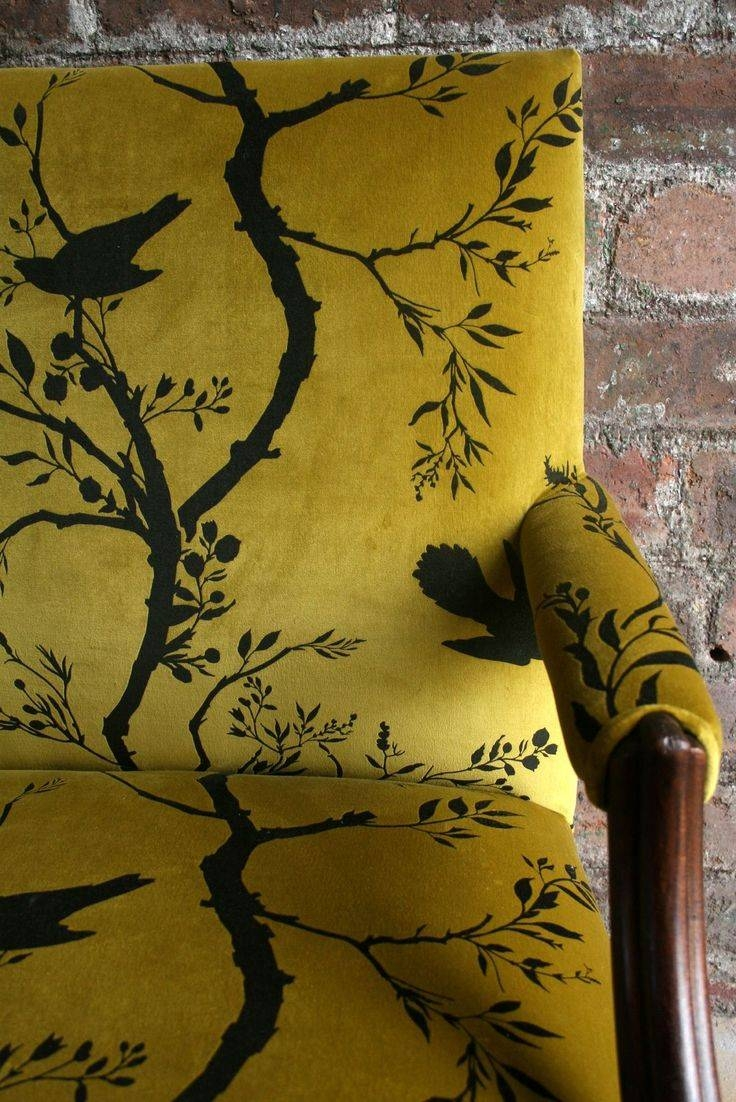 1284 Best Sofas, Chaises, Chairs Images On Pinterest | Chairs for Yellow Chintz Sofas (Image 2 of 30)