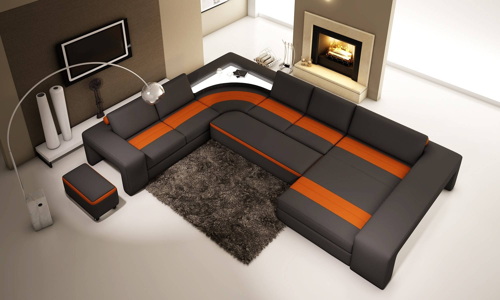 13 Chic American Leather Sofa Bed With Chaise Collections Inside American Sofa Beds (View 21 of 30)