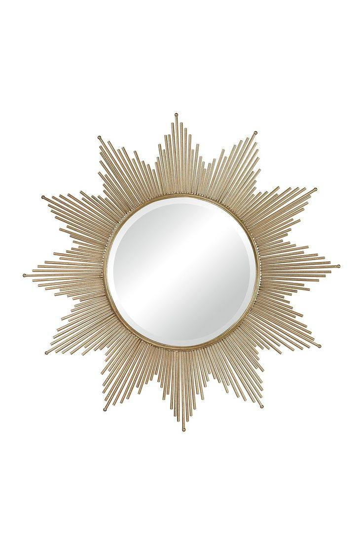 133 Best {Mirrors} Images On Pinterest | Mirror Mirror, Wall throughout Bronze Starburst Mirrors (Image 2 of 25)