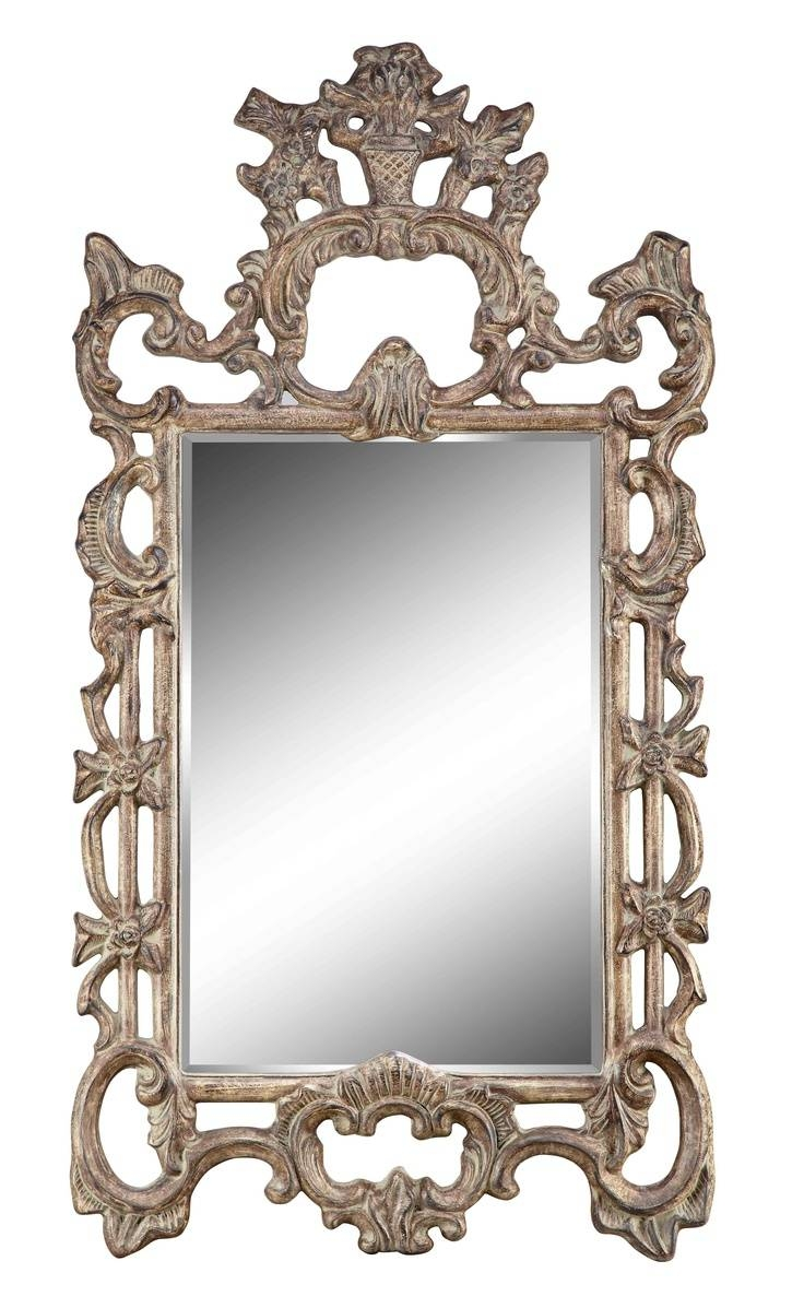 146 Best Antique Mirrors Images On Pinterest | Antique Mirrors with Ornate Wall Mirrors (Image 2 of 25)