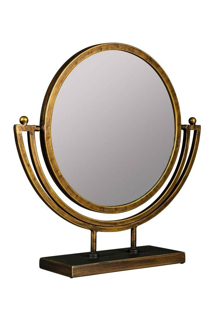 147 Best Mirror, Mirror On The Wall Images On Pinterest | Mirror inside Gold Table Mirrors (Image 1 of 25)