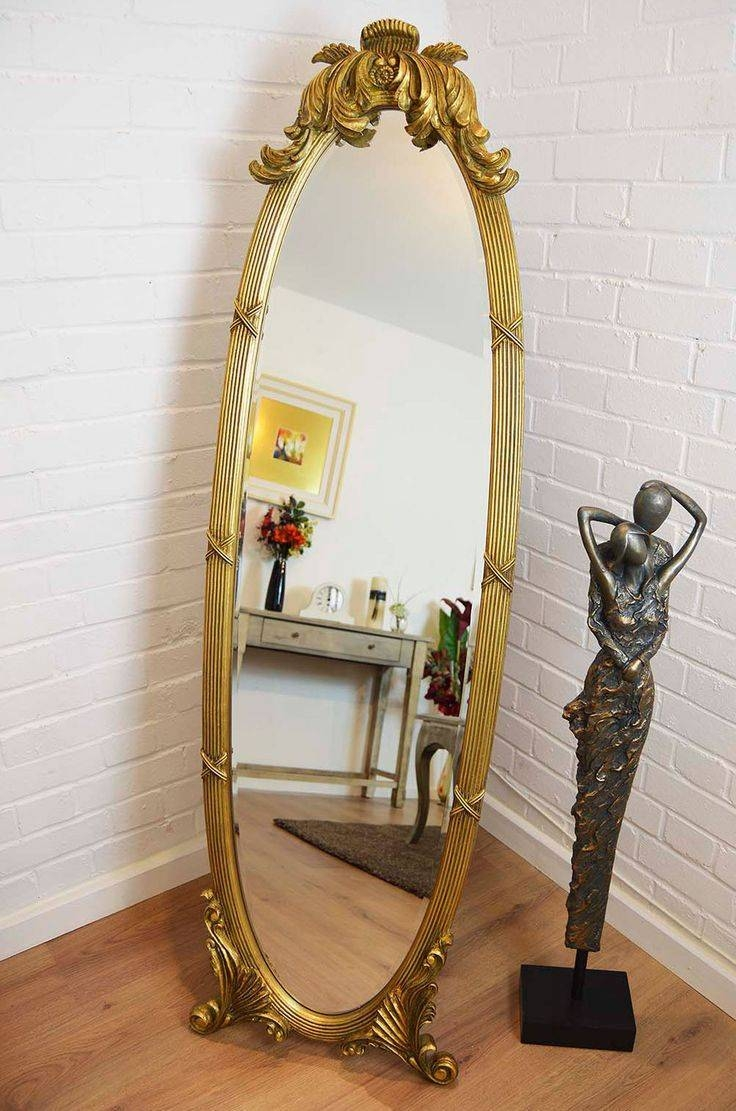 Popular Photo of Oval Freestanding Mirrors