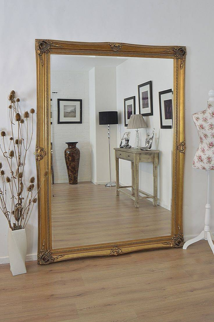 15 Best Hall Mirror Images On Pinterest | Large Mirrors, Wall for Big Antique Mirrors (Image 1 of 25)