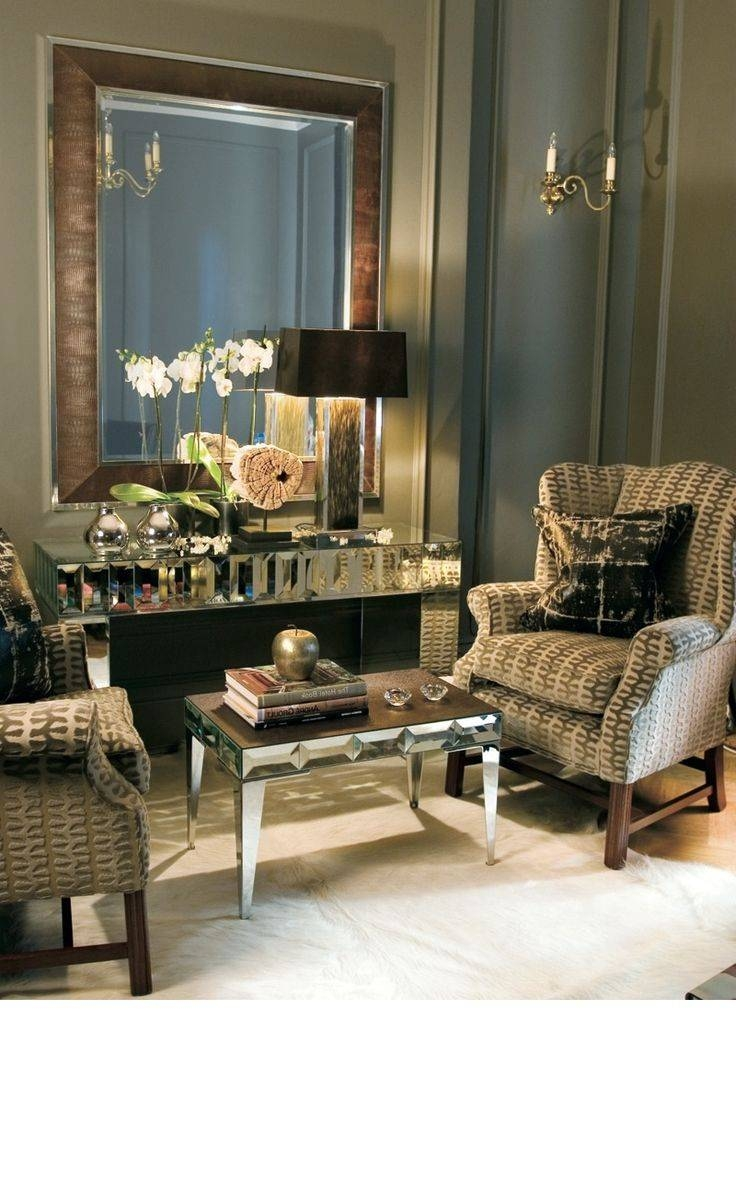 15 Best Leather Wall Mirrors Images On Pinterest | Luxury Home With Leather Mirrors (View 4 of 25)