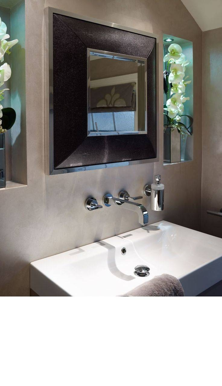 15 Best Leather Wall Mirrors Images On Pinterest | Luxury Home With Leather Mirrors (View 3 of 25)