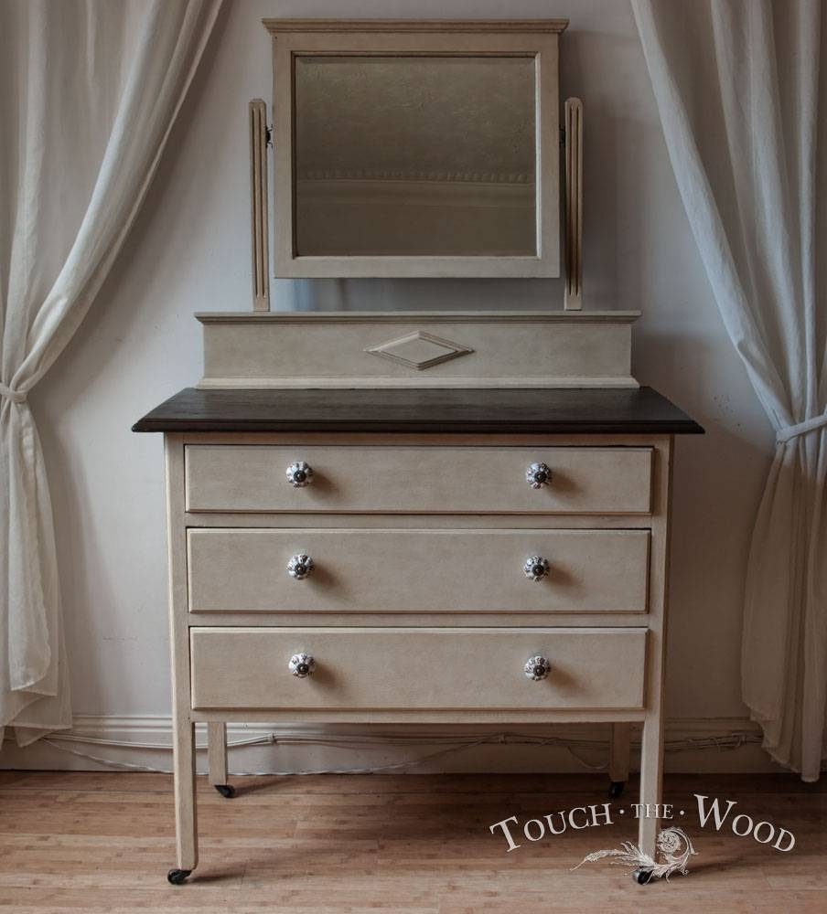 15 Best Shabby Chic Dresser Uk | Shabby Chic Dresser Uk Interiors with Vintage Shabby Chic Mirrors (Image 1 of 25)