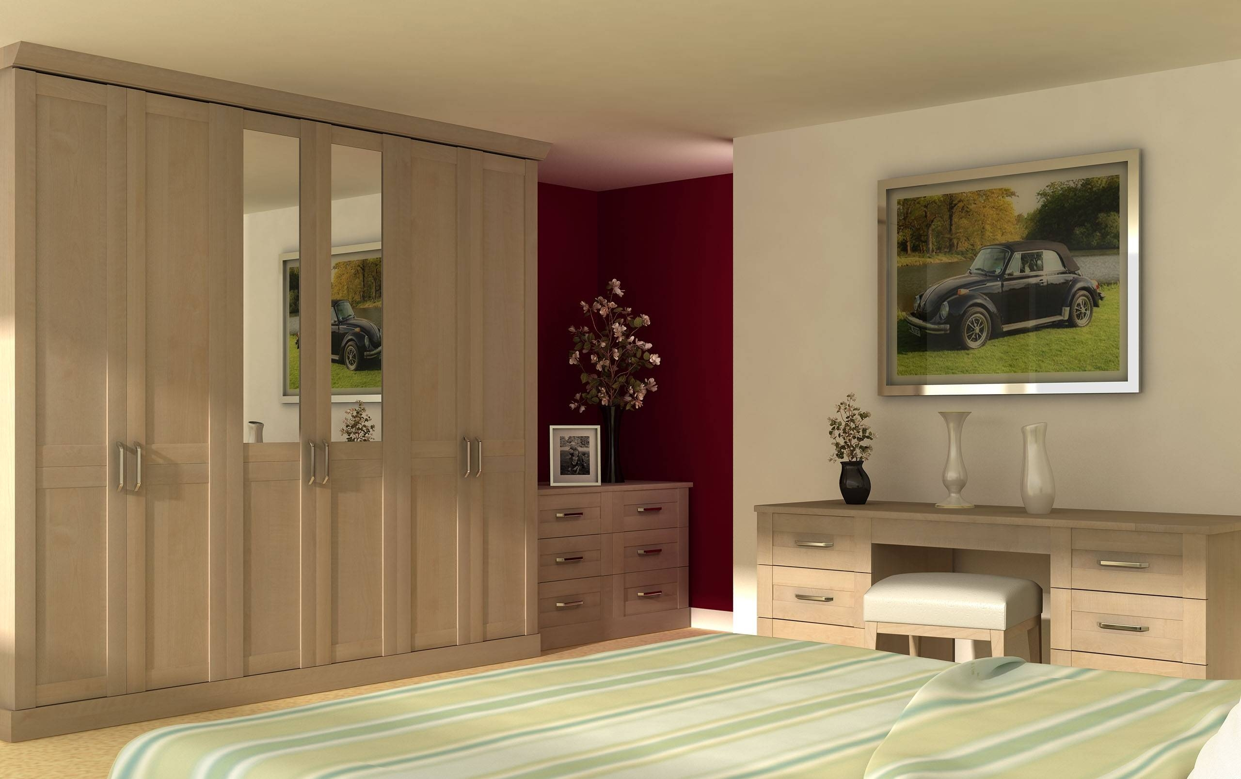 15 Ideas Of Solid Wood Built In Wardrobes Throughout Solid Wood Built In Wardrobes (View 4 of 30)