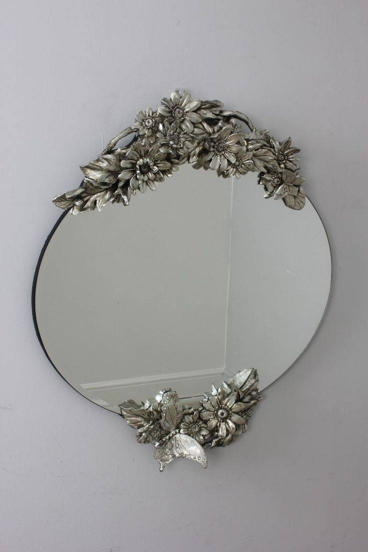 16 Best Mirrors Images On Pinterest | Contemporary Furniture, Home intended for Vintage Silver Mirrors (Image 1 of 25)