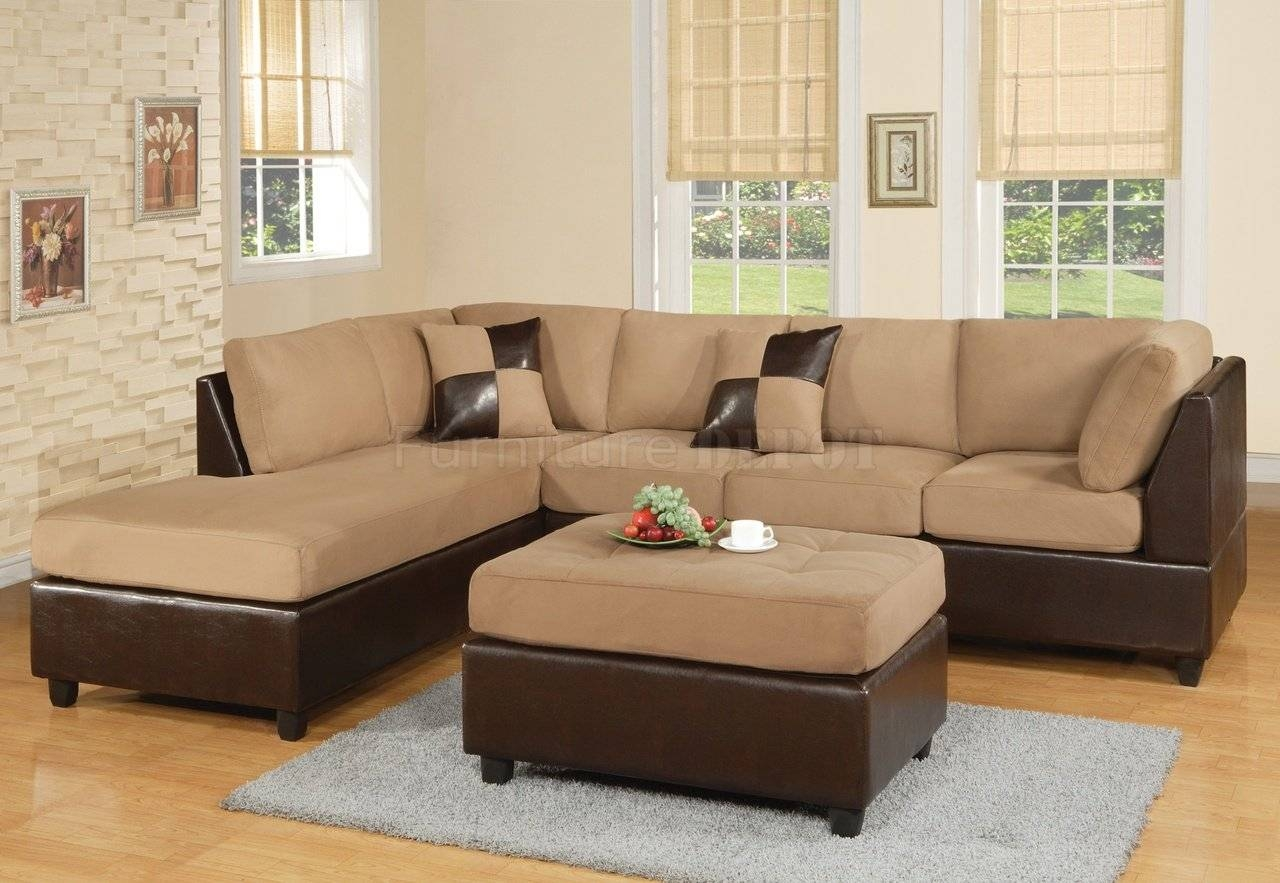 16 Interesting Two Tone Sectional Sofa Picture Ideas : Lawsh for Two Tone Sofas (Image 1 of 30)