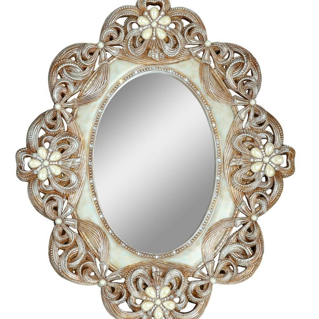 16 Ornate Mirrors For Your Home | Qosy inside Ornate Round Mirrors (Image 1 of 25)
